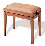 adjustable piano stool offered for sale by The Piano Agency